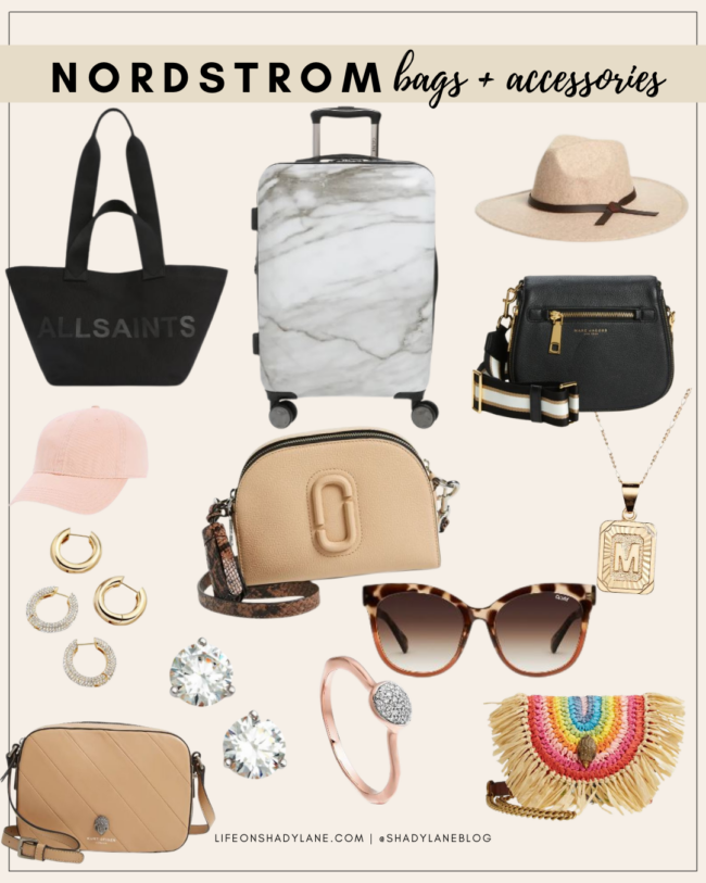 Nordstrom Anniversary Sale 2021 Shopping Guide | bags and accessories | Kansas City life, home, and style blogger Megan Wilson @shadylaneblog shares her top picks!