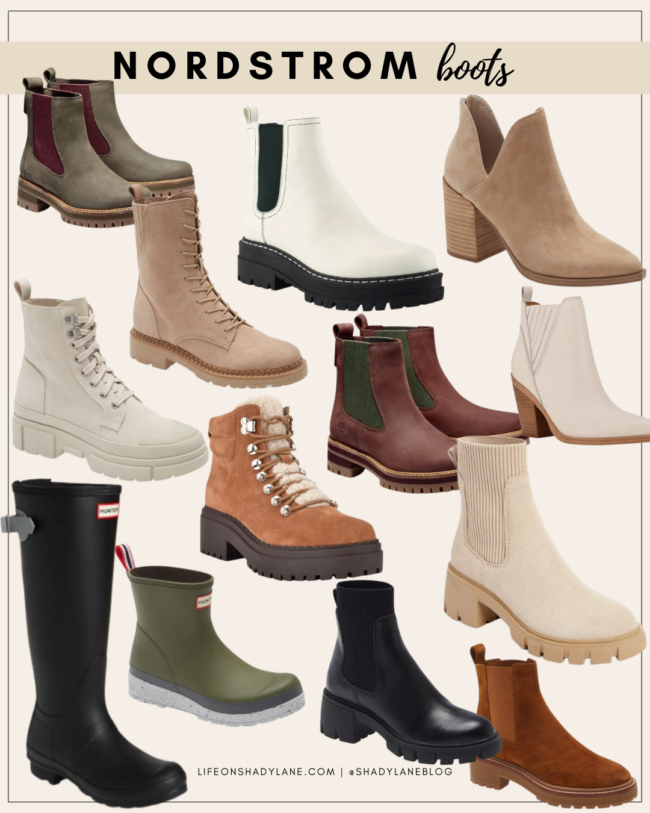 Nordstrom Anniversary Sale 2021 Shopping Guide | boots, fall boots, fall fashion | Kansas City life, home, and style blogger Megan Wilson @shadylaneblog shares her top picks!