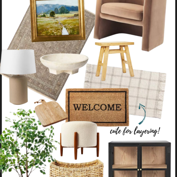 Organic modern home decor | neutral, eclectic home finds all at an affordable price! Kansas City life, home, style blogger @shadylaneblog
