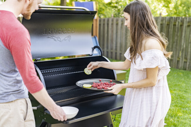 Why we love our Traeger pellet grill (plus a recipe for delicious veggie burgers!) | Kansas City life, home, and style blog | Megan Wilson