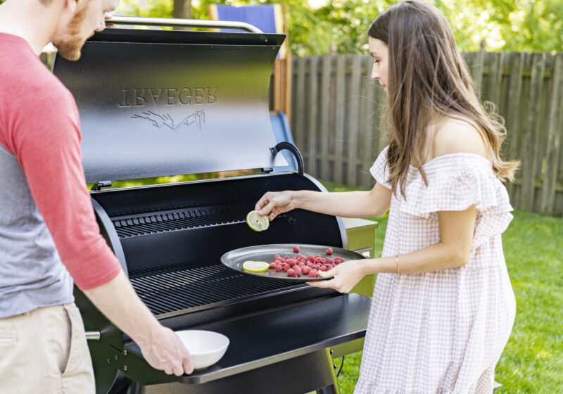 Our new Traeger grill (plus an awesome veggie burger recipe!)